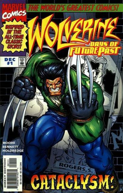 Wolverine Days of Future Past (1997) Complete Bundle - Used