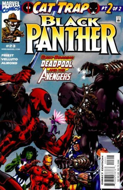 Black Panther (1998) no. 23 - Used
