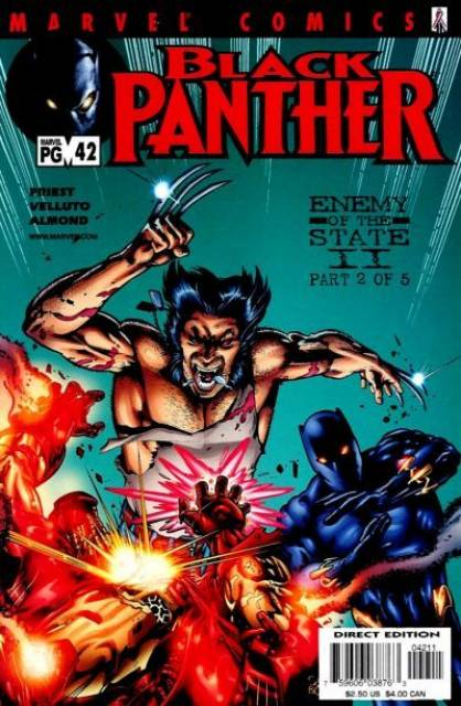 Black Panther (1998) no. 42 - Used