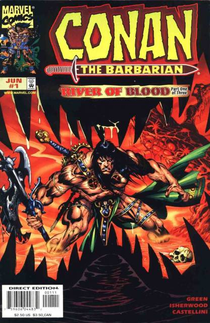 Conan the Barbarian River of Blood (1998) Complete Bundle - Used