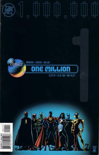 DC Comics One Million (1998) Complete Bundle - Used