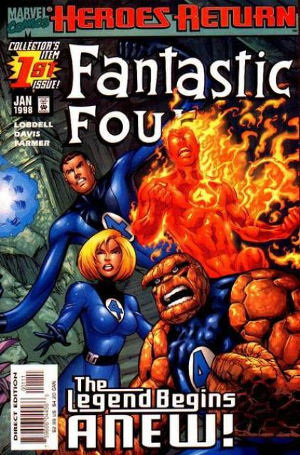 Fantastic Four (1961) Volume 3 (1998) no. 1 - Used