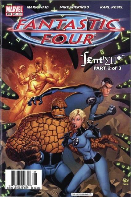 Fantastic Four (1961) Volume 3 (1998) no. 63 - Used