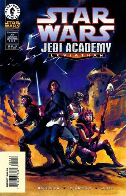 Star Wars: Jedi Academy: Leviathan (1998) Complete Bundle - Used