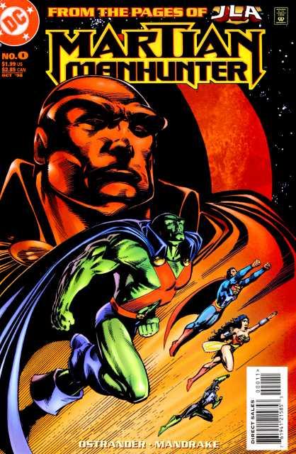 Martian Manhunter (1998) no. 0 - Used