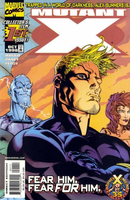 Mutant X (1998) no. 1 - Used