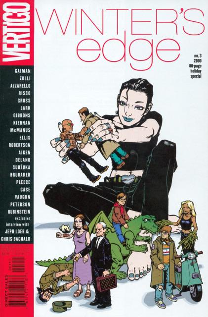 Vertigo Winter's Edge (1998) no. 3 - Used
