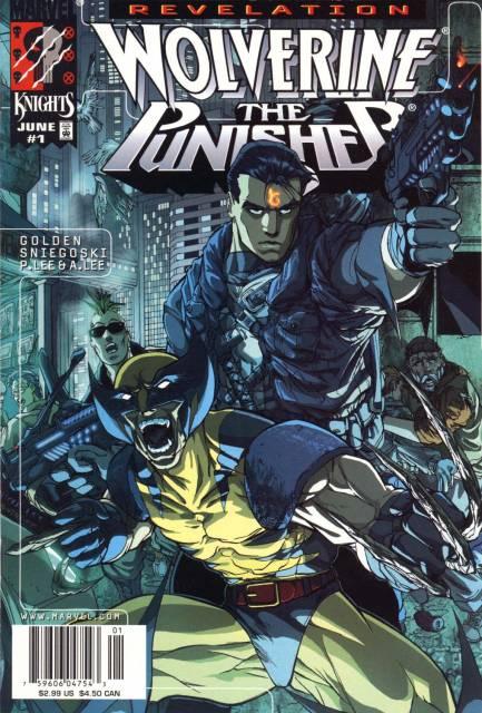 Wolverine Punisher Revelation (1998) Complete Bundle - Used