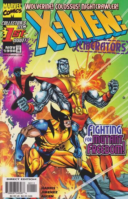 X-Men Liberators (1998) Complete Bundle - Used