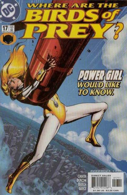 Birds of Prey (1999) no. 17 - Used