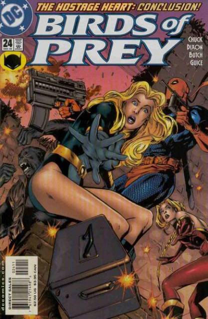 Birds of Prey (1999) no. 24 - Used
