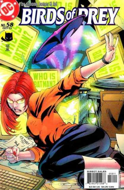 Birds of Prey (1999) no. 58 - Used