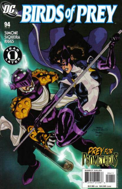 Birds of Prey (1999) no. 94 - Used
