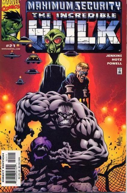 Incredible Hulk (1999) no. 21 - Used