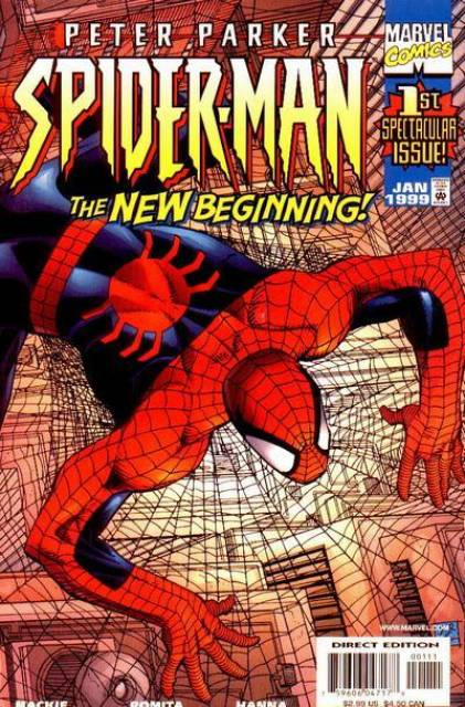 Peter Parker Spiderman (1999) no. 1 - Used