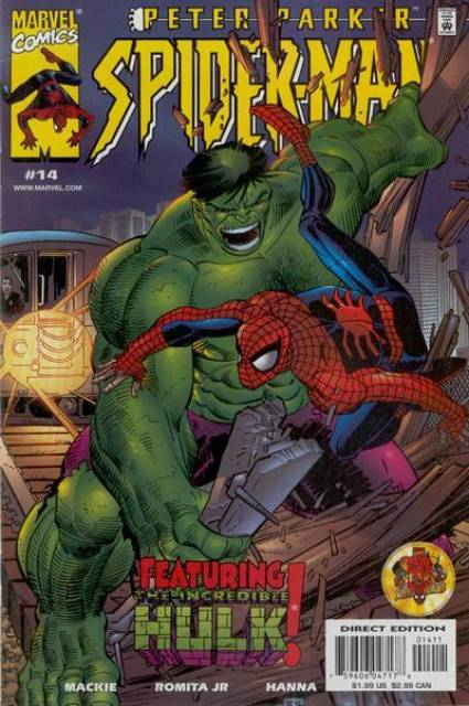 Peter Parker Spiderman (1999) no. 14 - Used