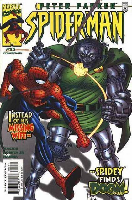 Peter Parker Spiderman (1999) no. 15 - Used