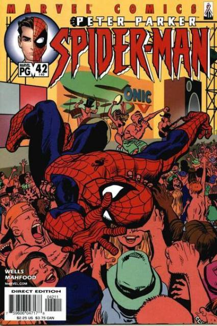 Peter Parker Spiderman (1999) no. 42 - Used