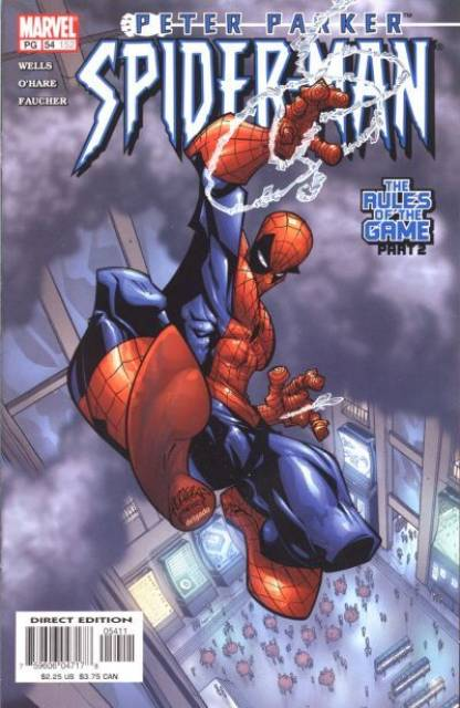 Peter Parker Spiderman (1999) no. 54 - Used