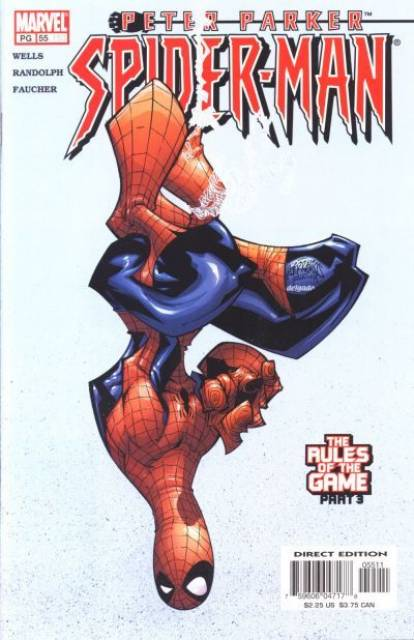 Peter Parker Spiderman (1999) no. 55 - Used