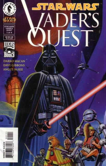 Star Wars: Vader's Quest (1999) Complete Bundle - Used