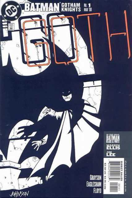 Batman Gotham Knights (2000) no. 1 - Used