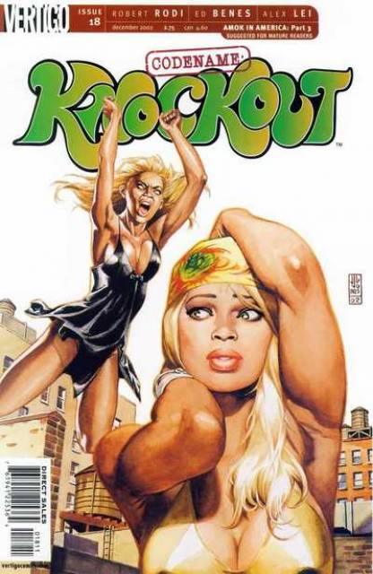 Codename Knockout (2001) no. 18 - Used