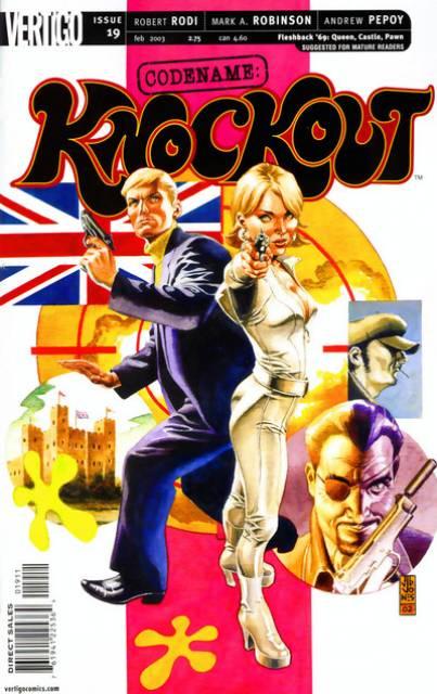 Codename Knockout (2001) no. 19 - Used