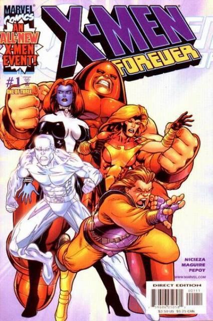 X-Men Forever (2001) Complete Bundle - Used