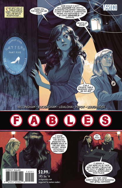 Fables (2002) no. 145 - Used