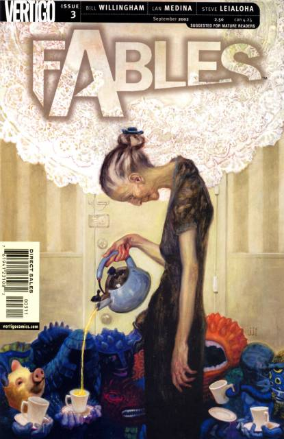 Fables (2002) no. 3 - Used