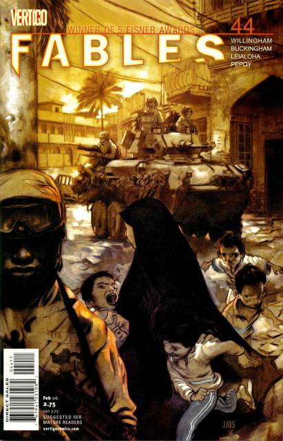 Fables (2002) no. 44 - Used