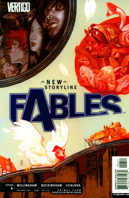 Fables (2002) no. 6 - Used