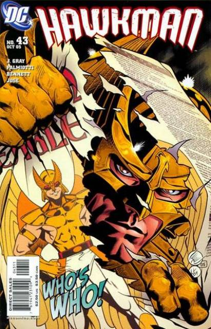 Hawkman (2002) no. 43 - Used