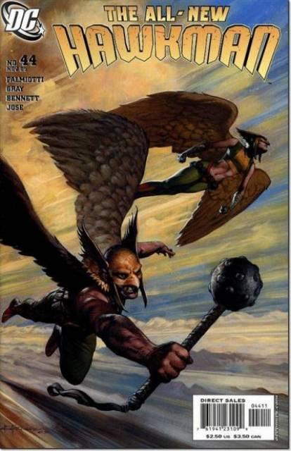 Hawkman (2002) no. 44 - Used