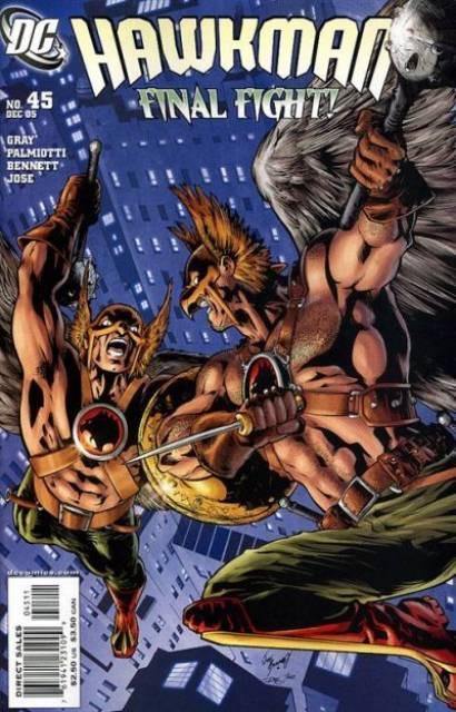 Hawkman (2002) no. 45 - Used