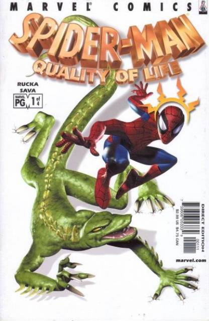 Spider-man: Quality of Life (2002) Complete Bundle - Used