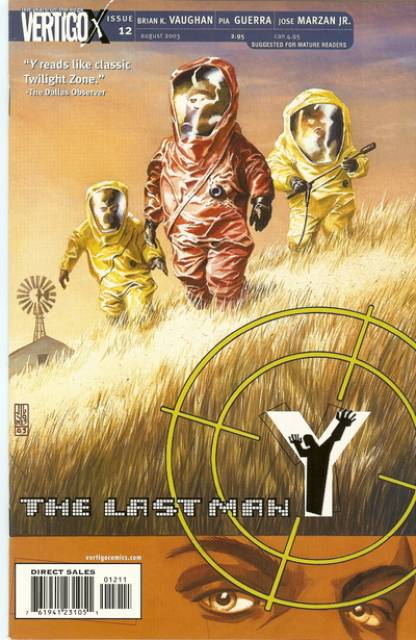 Y: The Last Man (2002) no. 12 - Used