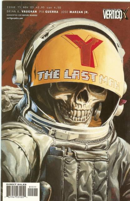 Y: The Last Man (2002) no. 15 - Used
