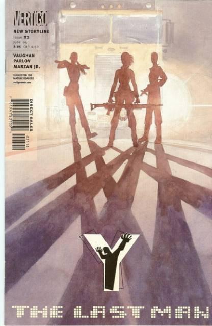 Y: The Last Man (2002) no. 21 - Used