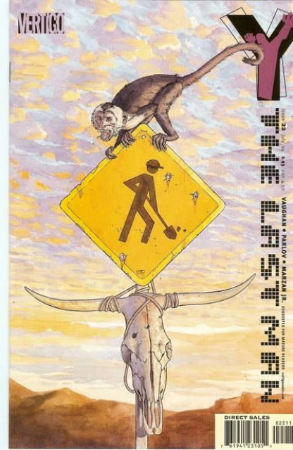 Y: The Last Man (2002) no. 22 - Used