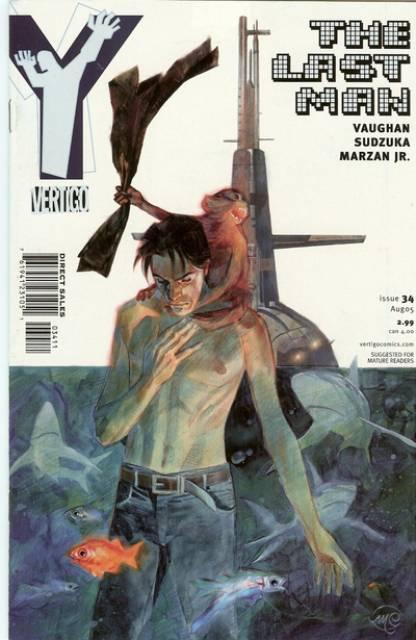 Y: The Last Man (2002) no. 34 - Used