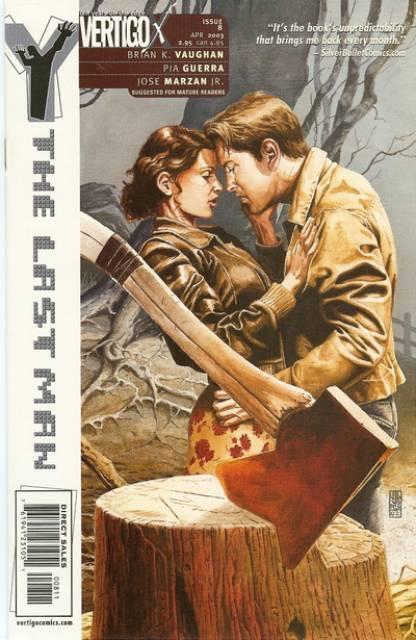 Y: The Last Man (2002) no. 8 - Used