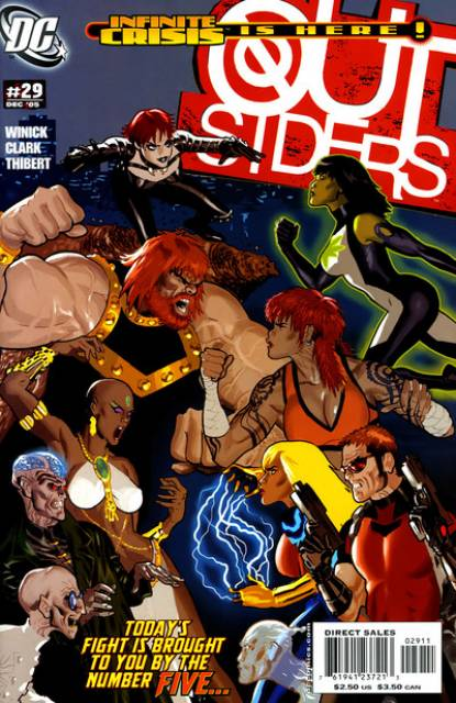 Outsiders (2003) no. 29 - Used