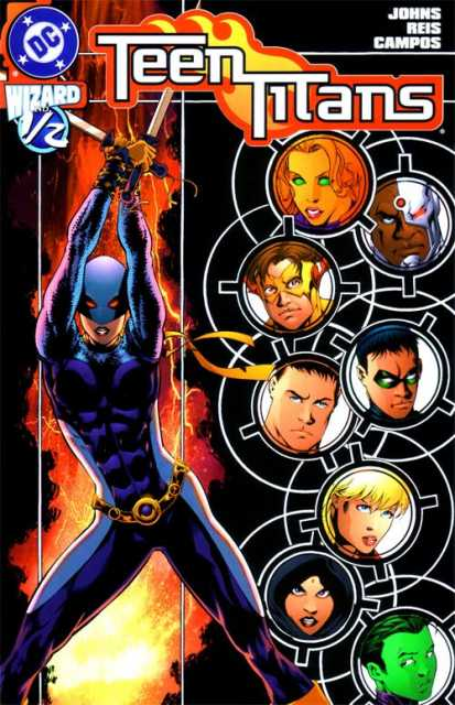 Teen Titans (2003) no. One Half - Used