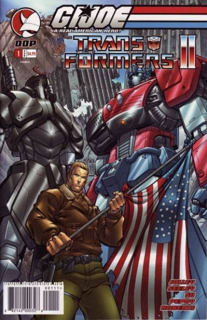 GI Joe Vs Transformers II (2004) Complete Bundle - Used