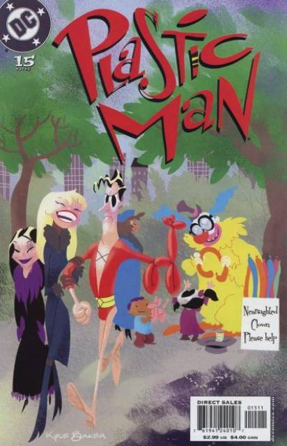 Plastic Man (2004) no. 15 - Used