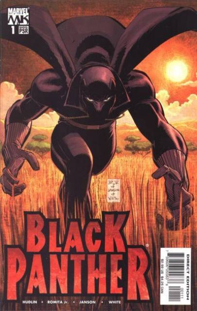 Black Panther (2005) no. 1 - Used