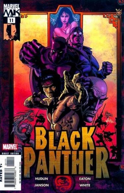 Black Panther (2005) no. 11 - Used