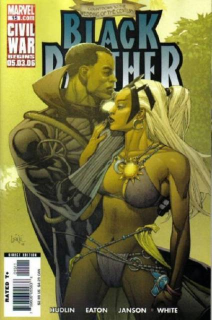 Black Panther (2005) no. 15 - Used